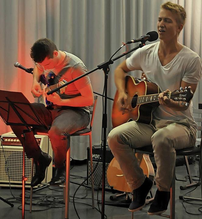 Benjamin Velte (links) und Moritz Henle    Foto: Herbert Geisler
