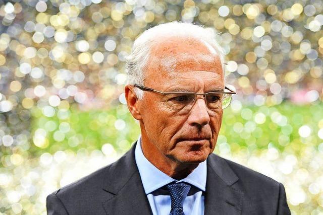 Beckenbauer erhielt wohl 5,5 Millionen als WM-Honorar