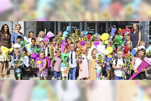 34 Neulinge an der Hebel-Grundschule