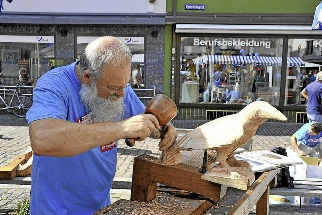 Am Samstag ist die Freiburger Innenstadt in den Händen der Handwerker