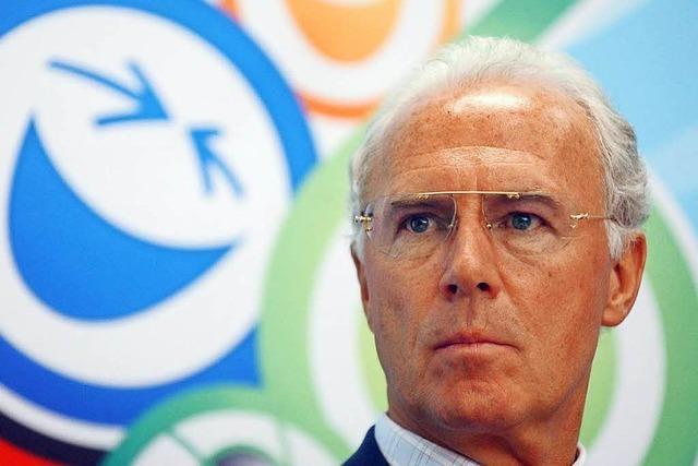 Beckenbauer erhielt 5,5 Millionen als OK-Chef bei WM 2006