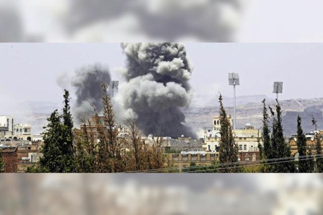Angriff auf die Hauptstadt des Jemen