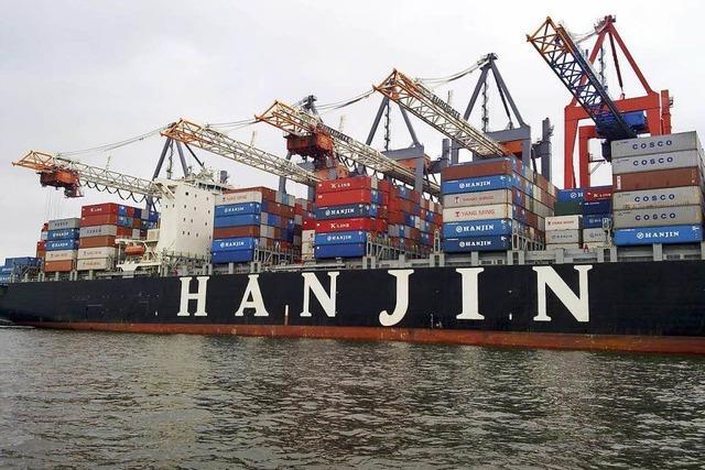 Pleite der Reederei Hanjin lässt Frachtraten steigen