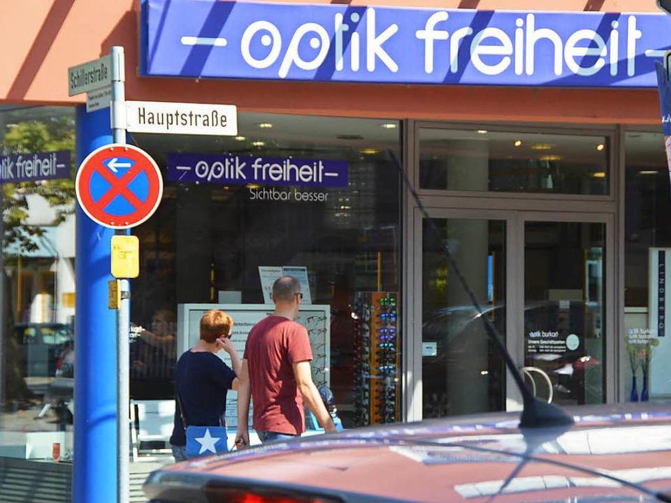 …  Logos von Weiler Geschäften einen Platz erobert.  | Foto: Ulrtich Senf