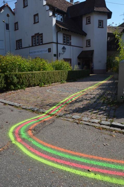 Büro der Freiheit – zum Stapflehus führen alle Linien.   | Foto: SENF