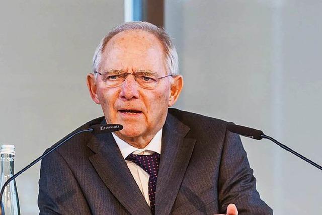 Wolfgang Schäuble will 2017 wieder in den Bundestag