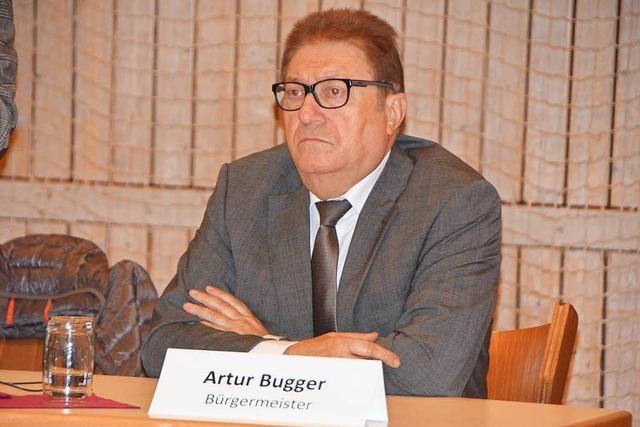 Rücktritt: Schriftliche Erklärung von Artur Bugger