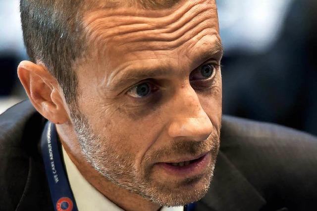 Ceferin ist neuer Uefa-Präsident