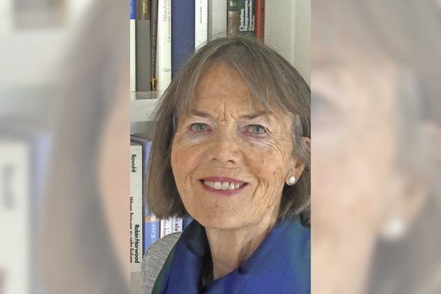 Mit Isolde Süess-Morat in Eisenbach