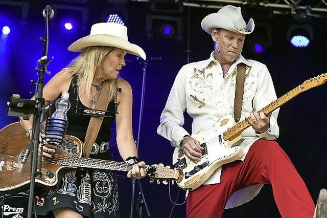 Texas Honky Tonk mit Kim Carson Reunion Band in der Wodanhalle