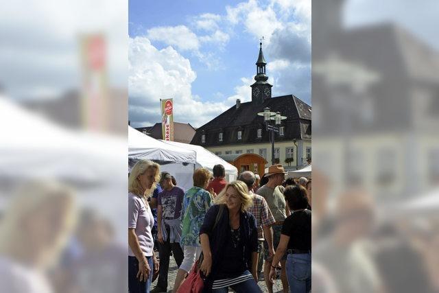 Künstlermarkt in Emmendingen