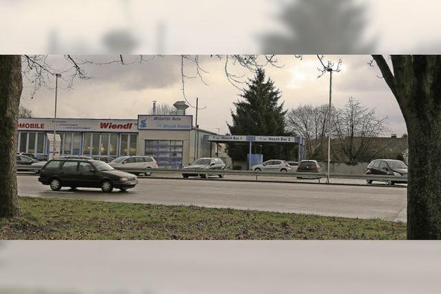 Grünes Licht für die Tankstelle in Altdorf