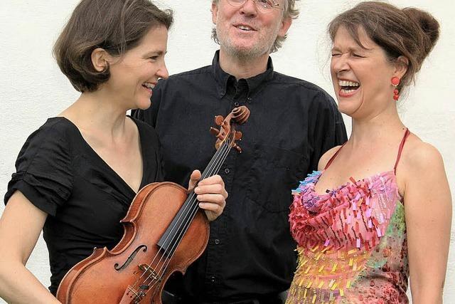 Das Trio Pas konzertiert in Freiburg und Kleinkems