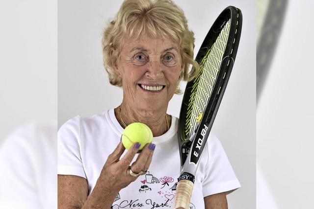 Ingrid Lösel fährt zur Tennis-Senioren-WM