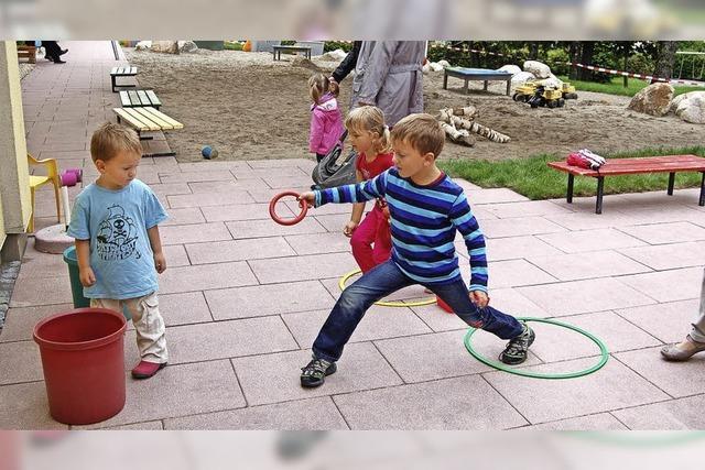 Neue Gruppe für Kinder unter drei
