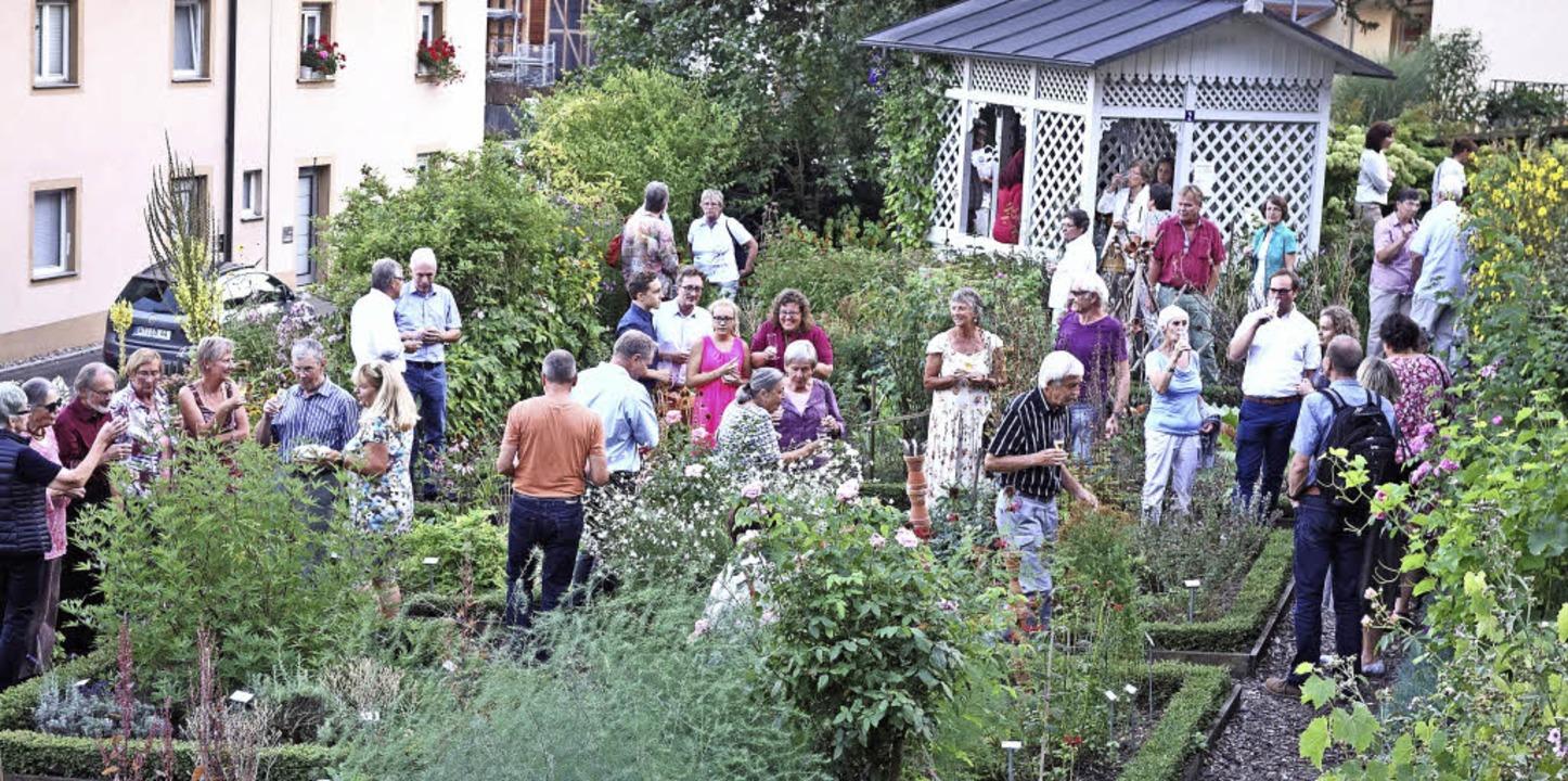 Die Gäste des Schwarzwaldvereins nehme...ten ein.                                  Foto: Andreas Mahler