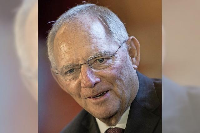 Wolfgang Schäuble will 2017 für Bundestag kandidieren