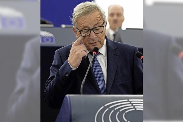 Kommissionschef Juncker kann vor EU-Gipfel keinen neuen Schwung vermitteln