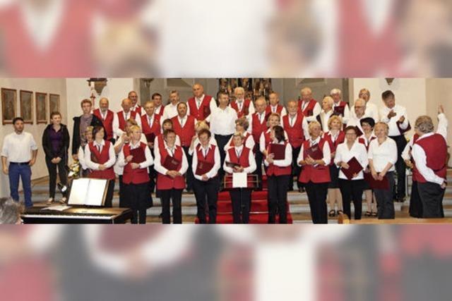 Melodien am Titisee mit den Chören der Gruppe Hochschwarzwald in Titisee-Neustadt
