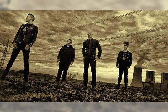 Die Bands Hellgreaser und Lotus Feedin Auggen