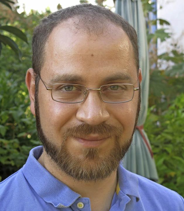 Physiker und Künstler Ismael Razouk  | Foto: Georg Voß