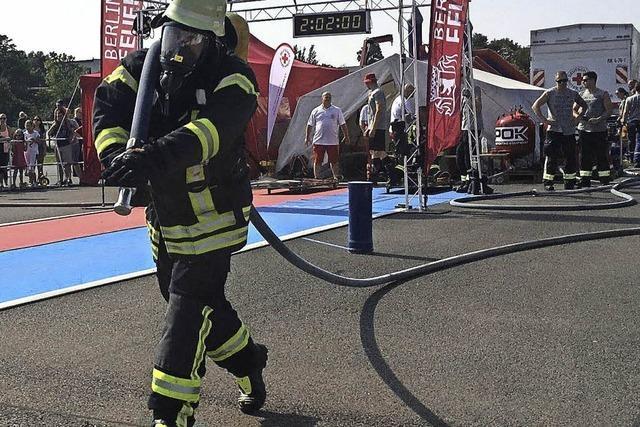 Harter Feuerwehrwettkampf