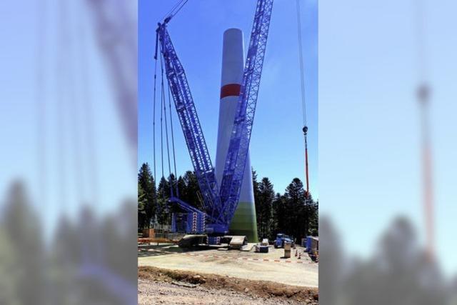 Windparkarbeitern blieb die Luft weg