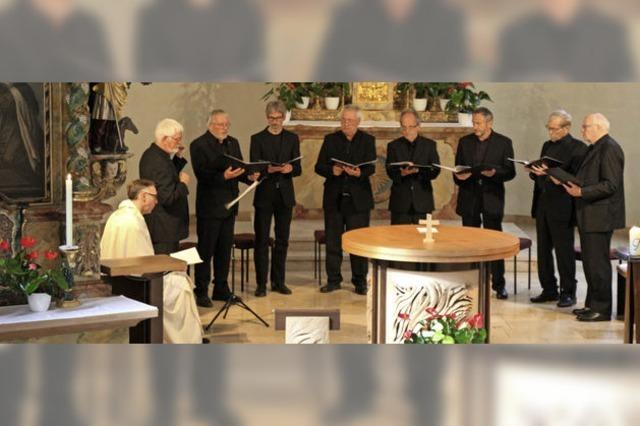 25 Jahre der Gregorianik verpflichtet