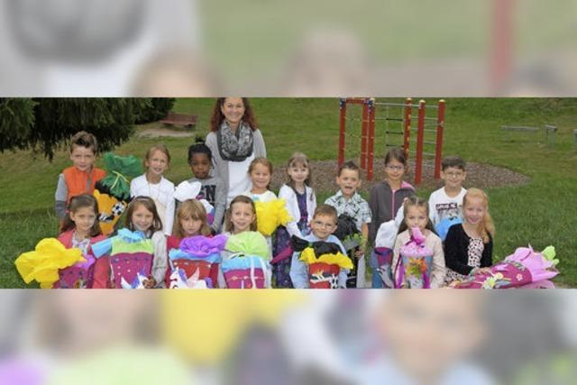 30 neue Schüler werden begrüßt