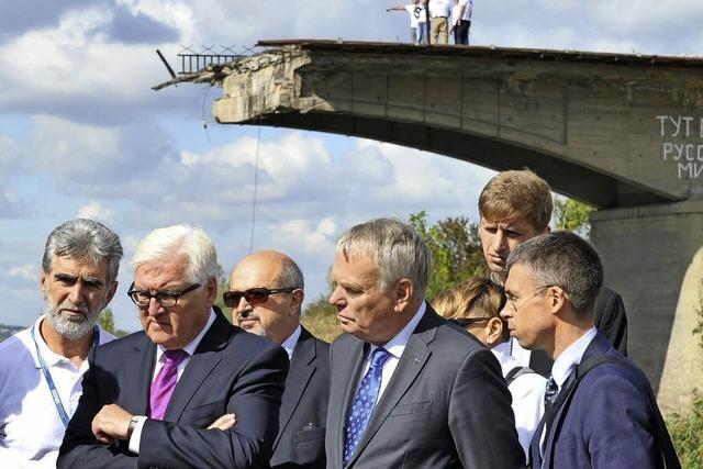 Neue Feuerpause in der Ostukraine hält weitgehend