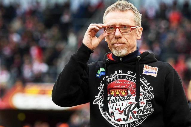 FC-Trainer Stöger lobt Streich über den grünen Klee