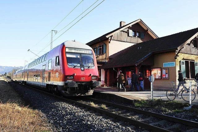Direktzüge vom Kaiserstuhl in den Schwarzwald geplant