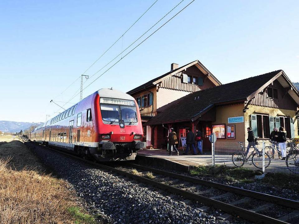 Mit dem Fahrplanwechsel im Dezember 20...Breisach und Donaueschingen einführen.  | Foto: Thomas Kunz