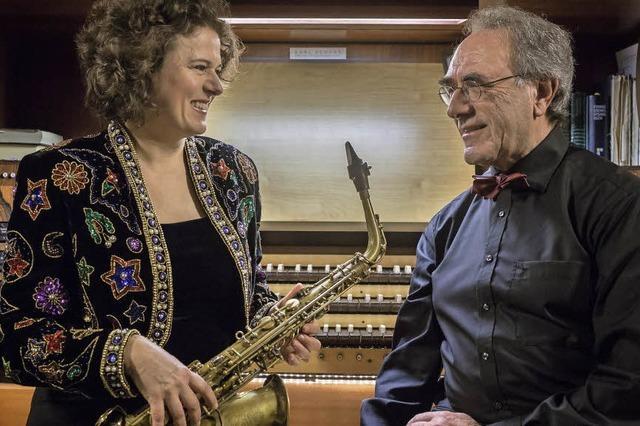 Saxophon und Sopran, Konzert im Evangelischen Gemeindezentrum Kirchzarten am Sonntag, 18.09. 19 Uhr