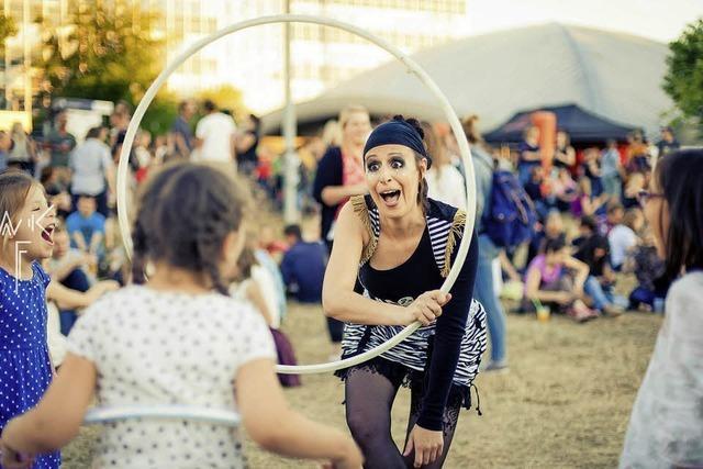 Zirkus-Spielweise und Mitmachangebote im Nellie Nashorn in Lörrach