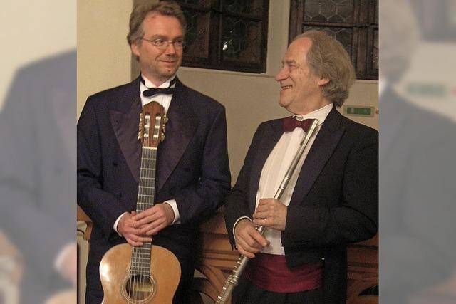 Frank Michael und Andreas Rossmy im Historischen Kaufhaus