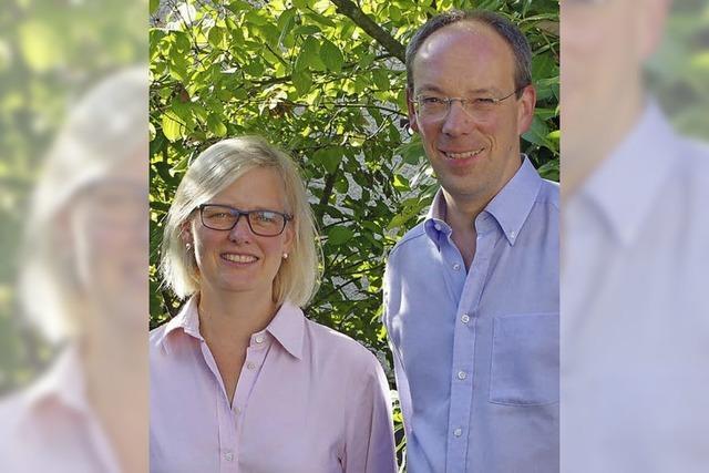 DasPfarrerehepaar Slenczka wird am Sonntag in der Christuskirche ins Amt eingeführt