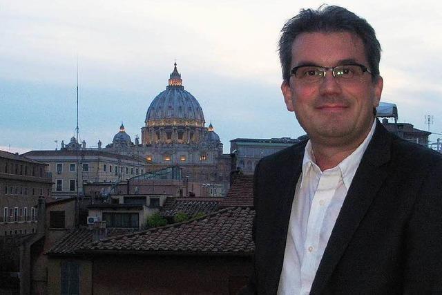 Manuel Furtwängler aus Ettenheim: Gestern Rom, heute Europa-Park-Dome