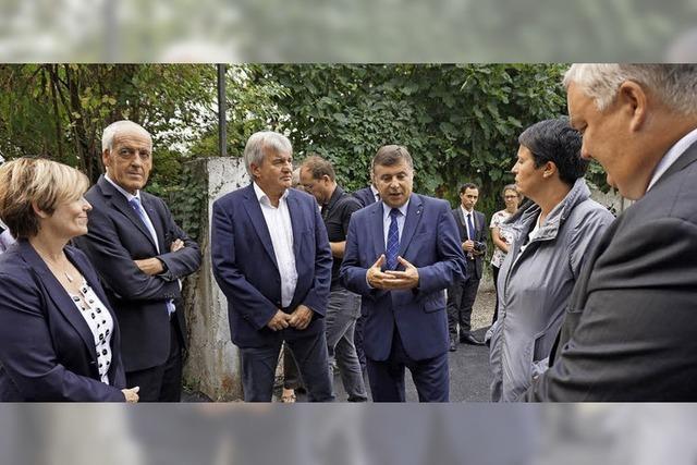 Anregung aus Grenzregion für Politiker in Paris