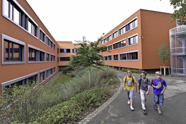 Festakt für die bislang größte Schulsanierung in Freiburg