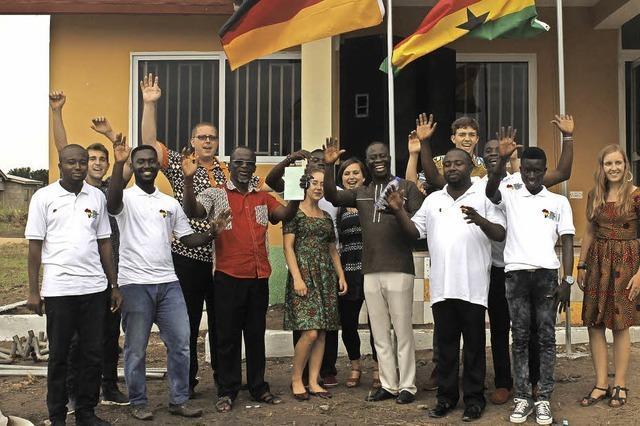 Wie zwei Freiburger Organisationen sich für Projekte in Ghana einsetzen