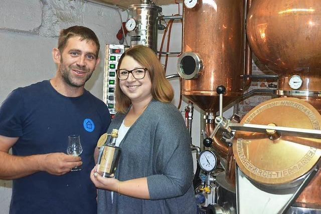 Bad Krozinger destillieren Obstler mit Thermalwasser
