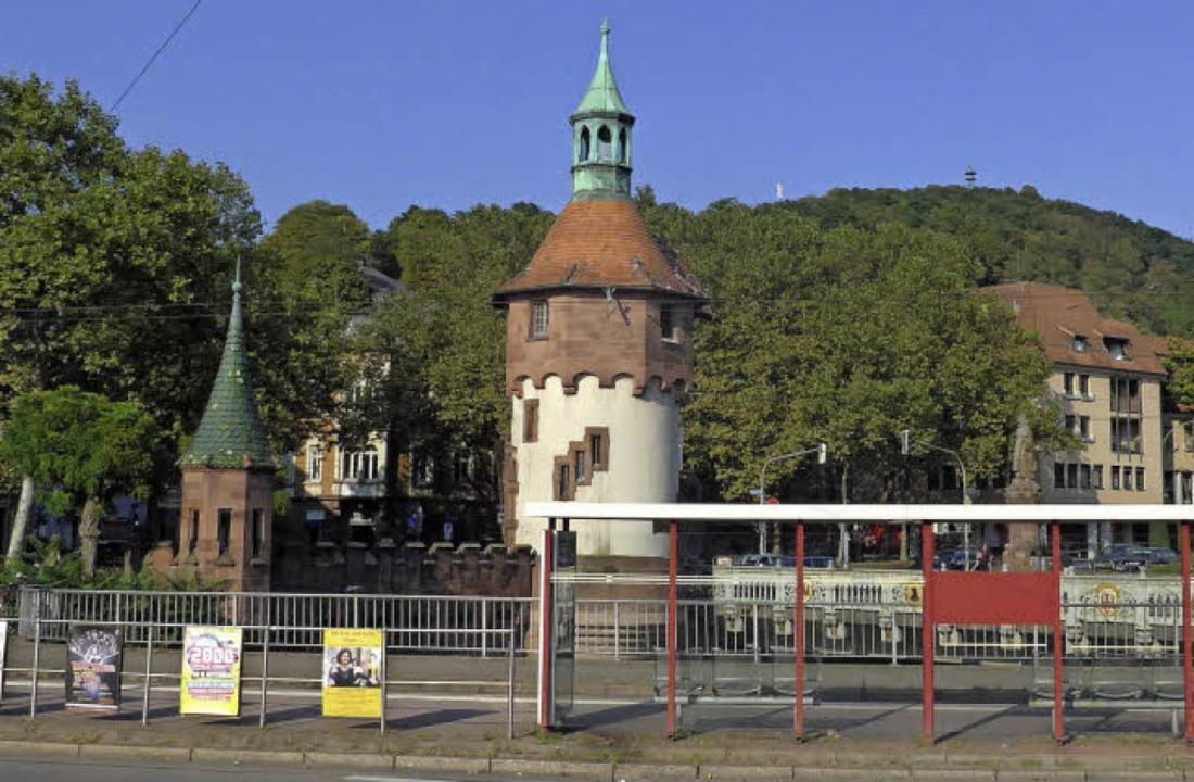 Die aktuelle Situation aus ähnlicher P...terer-Denkmal (rechts im Hintergrund).  | Foto: Joachim Scheck
