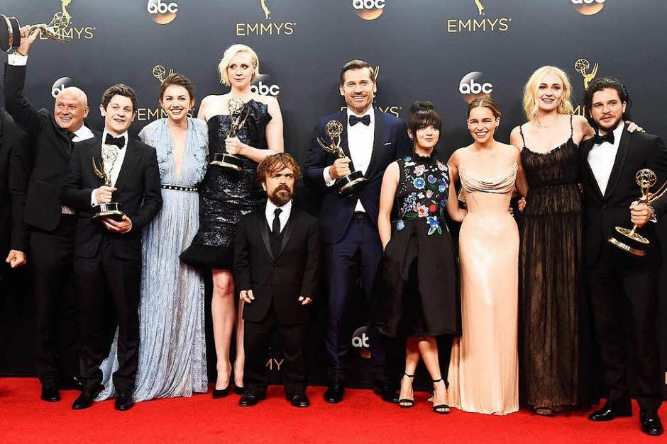 """""""Game of Thrones"""" wurde wie im vergangenen Jahr als beste Drama-Serie ausgezeichnet. (Foto: AFP)"""