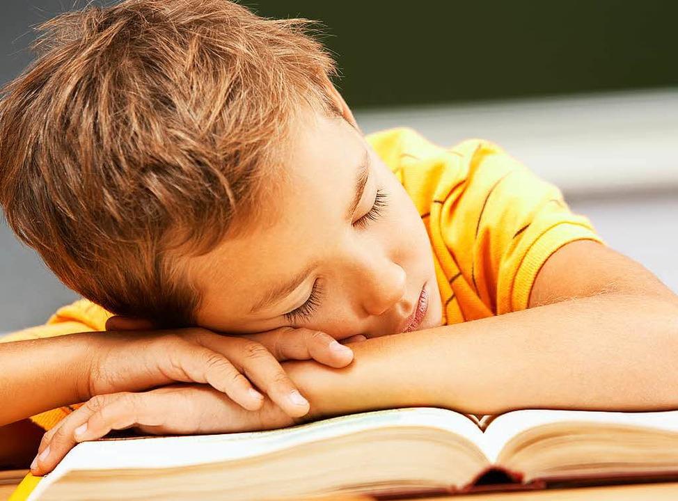 Das Gehirn hat einen äußerst nützliche...es sich Dinge merken will: den Schlaf     Foto: colourbox