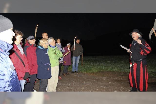 Sagenwanderung mit der Breitnauer Bauernbühne und Fidelius Waldvogel in Breitnau