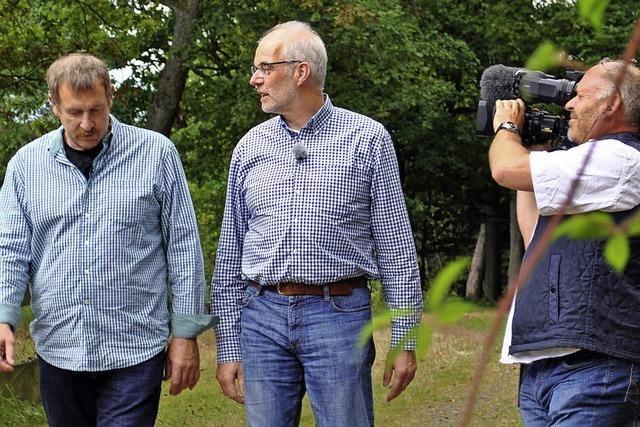 Arnulf Meffle trifft Wolfgang Heppelmann