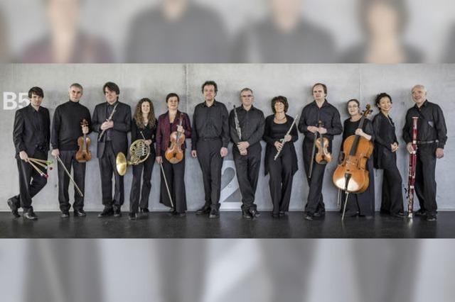 Konzert des Ensemble Aventure
