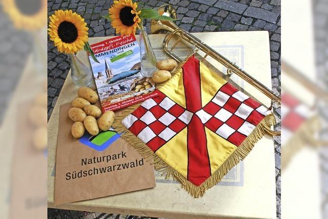 Härdepfl-Feschd und Naturparkmarkt in Emmendingen
