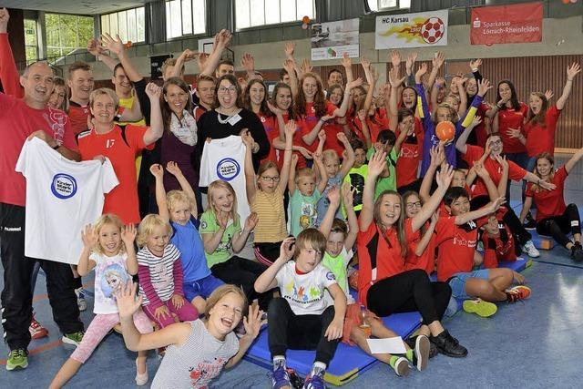 Karsauer Handballer wollen mit Sport stark machen